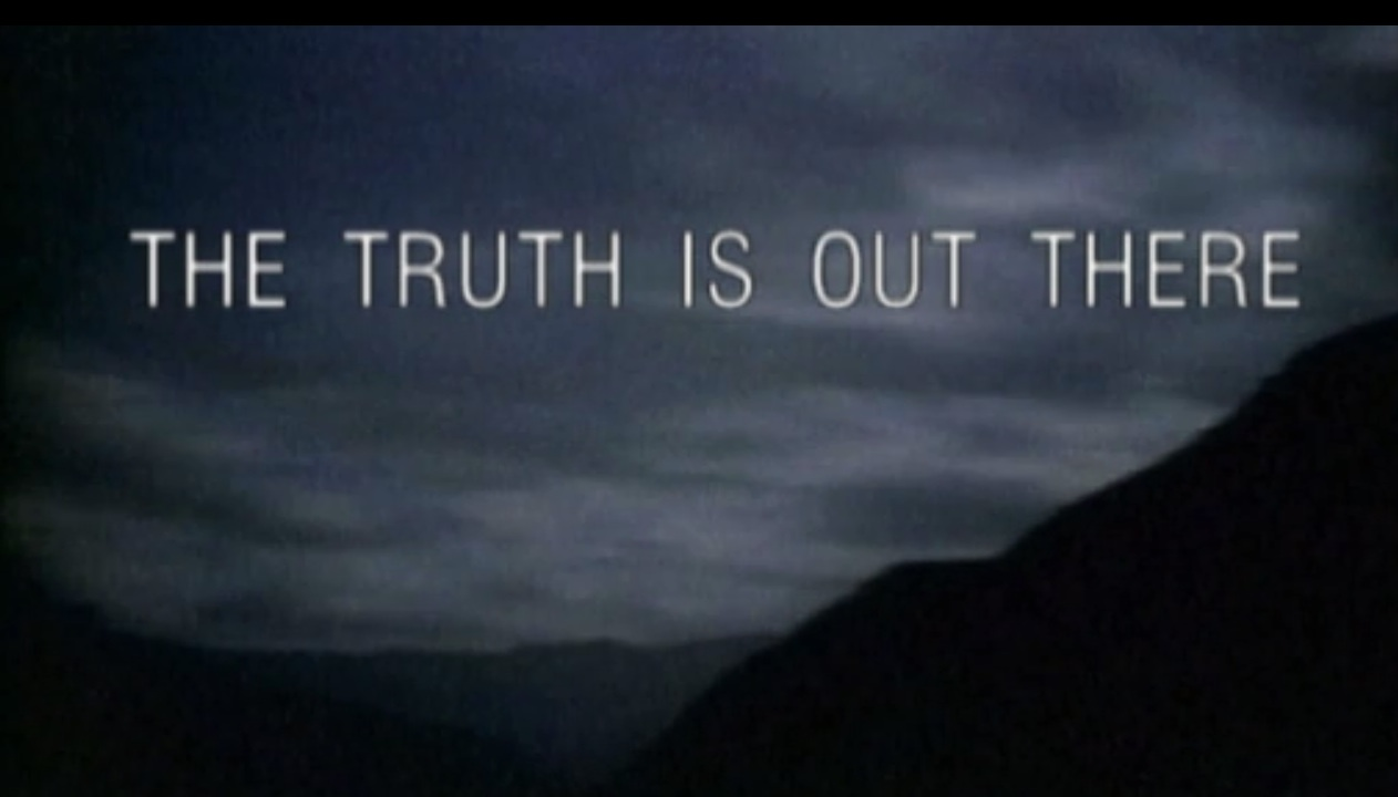 The X Files The Truth Is Out  X Files The Truth Is Out There